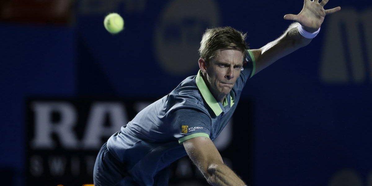 Sudafricano Anderson es el primer finalista en el Abierto Mexicano de Tenis