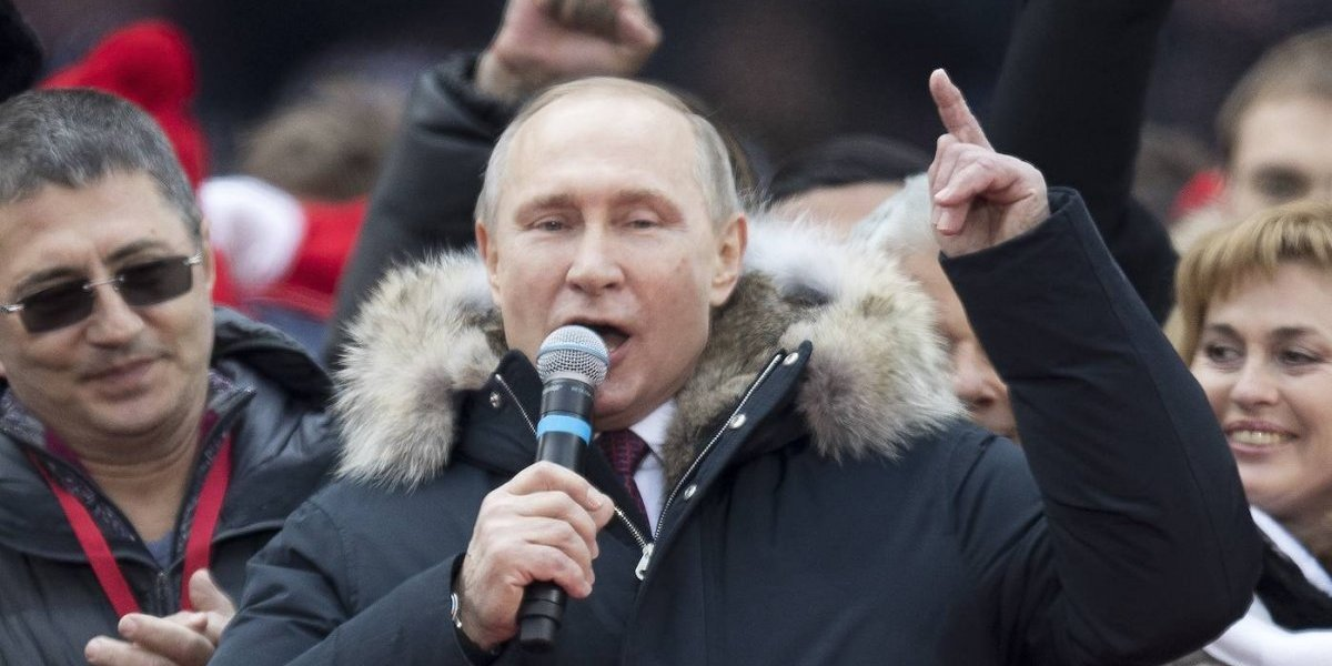 Putin llena el estadio donde se jugará la final del Mundial Rusia 2018