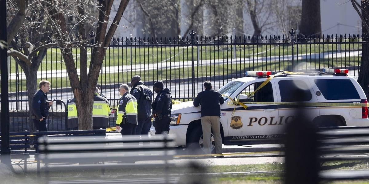 Hombre se dispara en la cabeza frente a la Casa Blanca