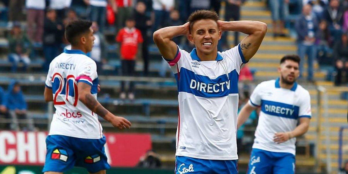Diego Buonanotte se suma a las bajas de la UC para enfrentar a Iquique en Calama