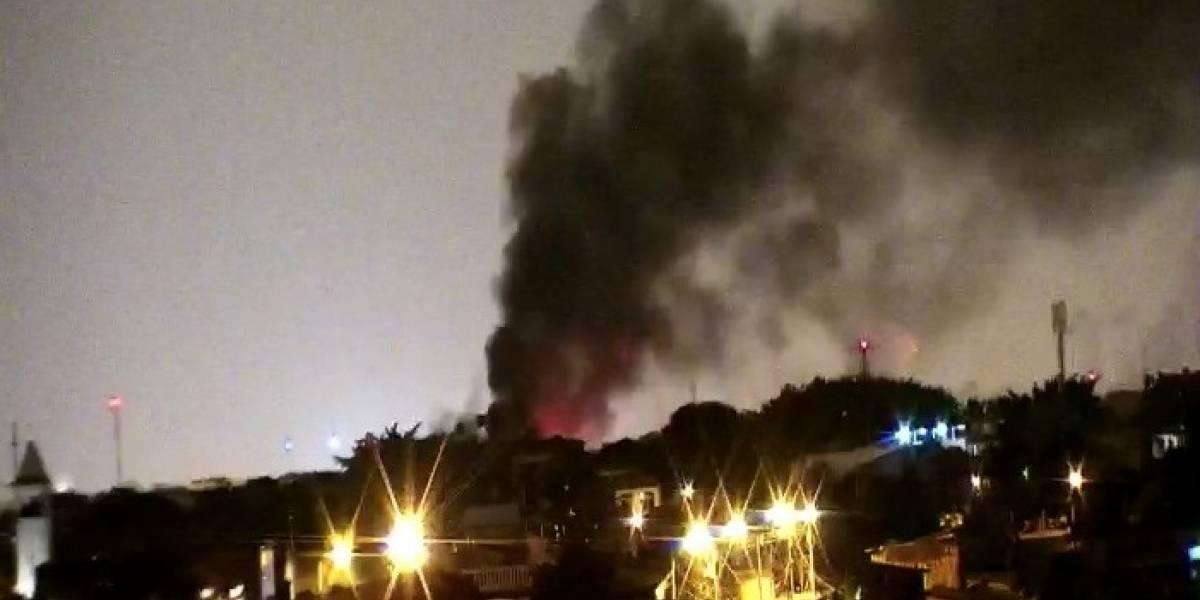 Tres viviendas se incendiaron en Salinas y Guayaquil