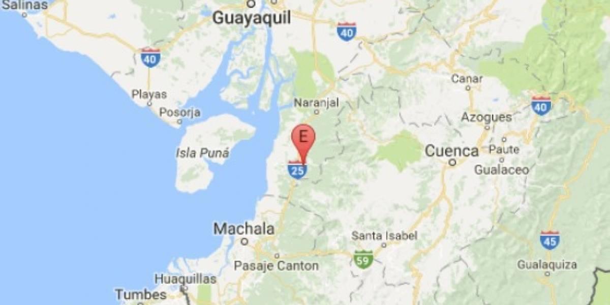Sismo de 3.5 se registra en Balao, Guayas