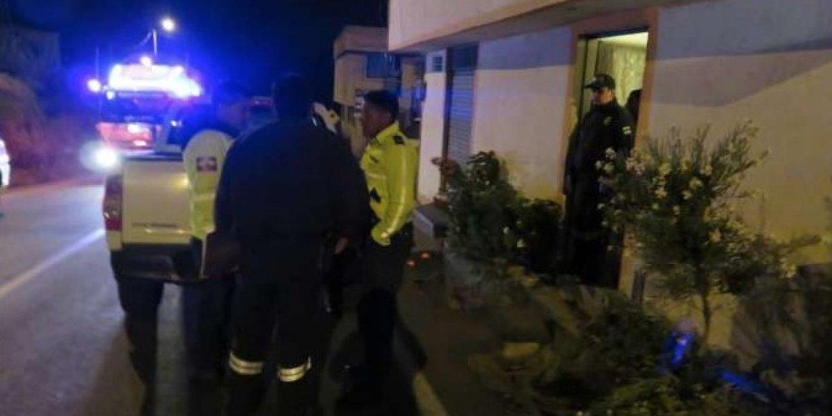 Niña se suicida por problemas familiares en Píllaro, Tungurahua
