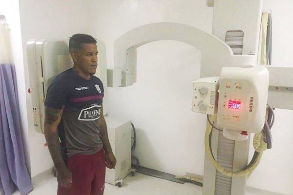 Michael Arroyo se lesionó en su primer partido con Barcelona