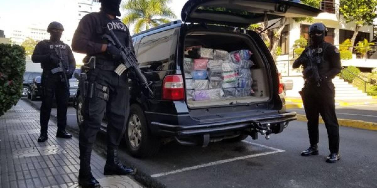 DNCD decomisa 144 paquetes se presume cocaína en Puerto Caucedo