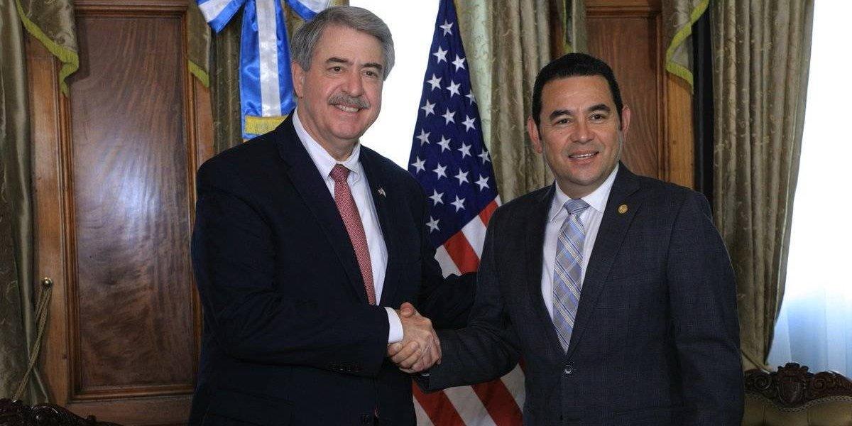 Morales habla de migración con el subsecretario de Comercio de EE.UU.