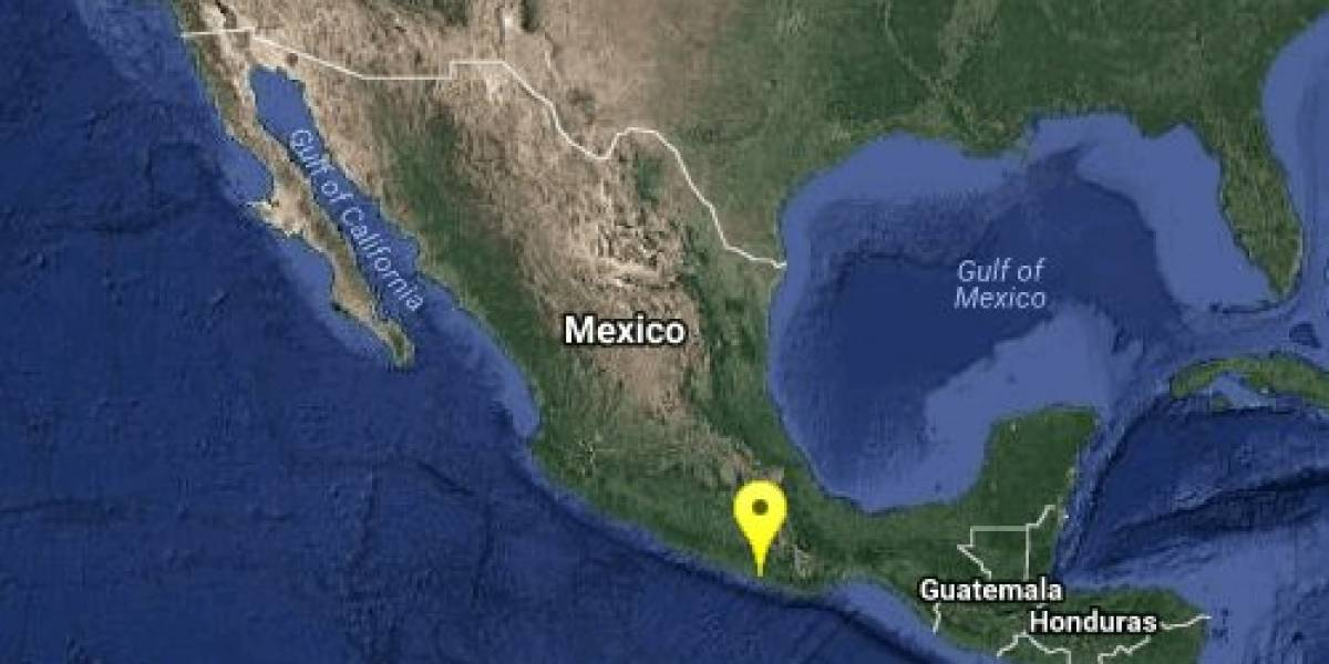 Se registra sismo de magnitud 4 en Pinotepa Nacional