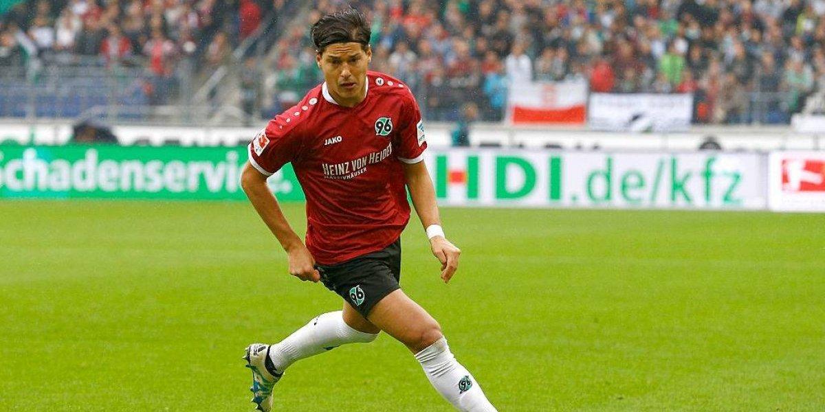 Miiko Albornoz volvió a jugar en el Hannover después de tres meses