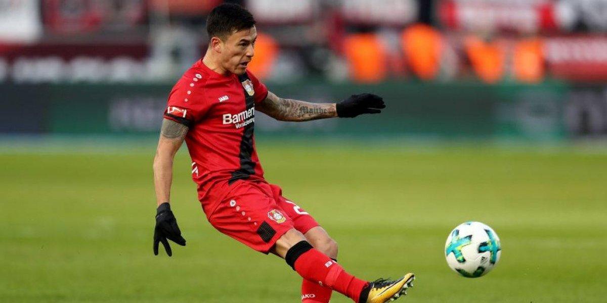 Charles Aránguiz brilló en valiosa victoria del Leverkusen que se encumbra en la Bundesliga