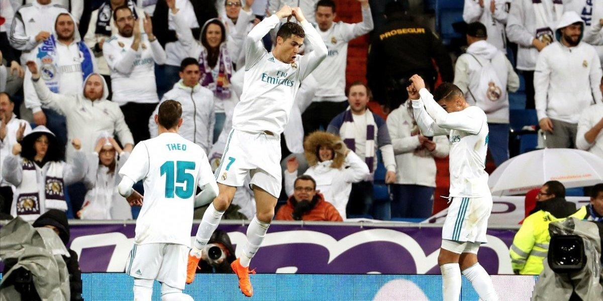 Cristiano Ronaldo no perdona y castiga al Getafe en el Santiago Bernabéu