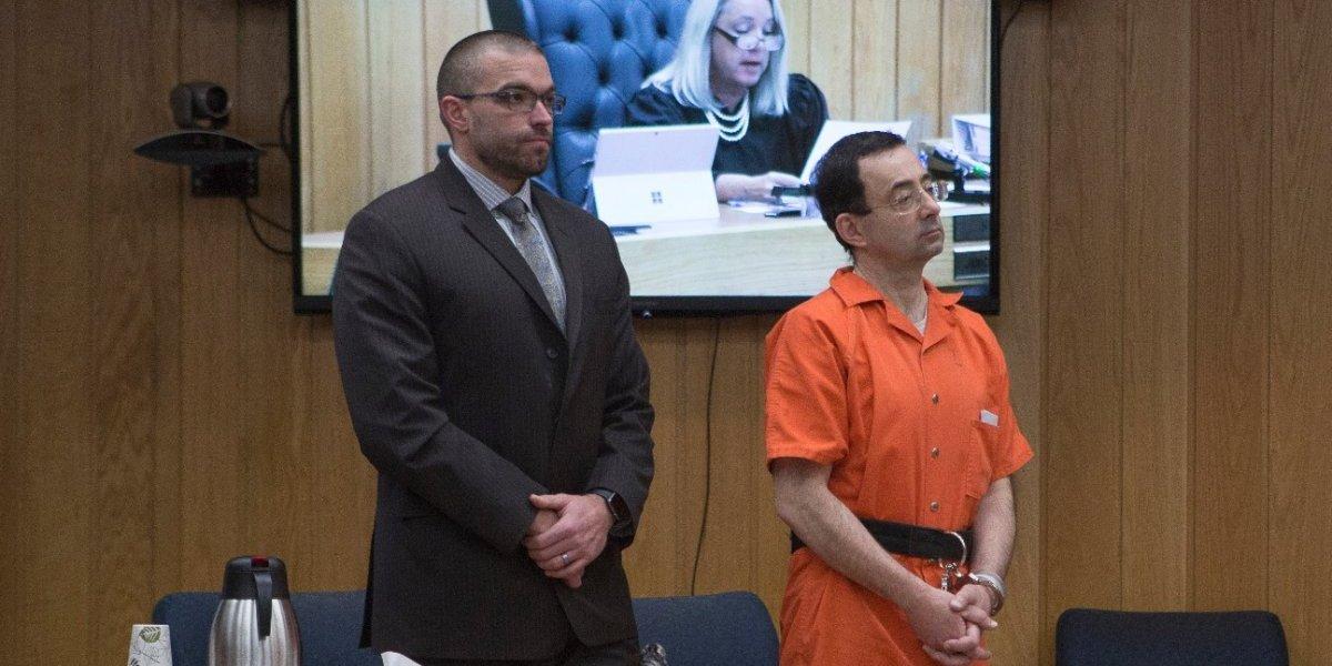 Primera víctima masculina revela haber sido abusado por médico Larry Nassar