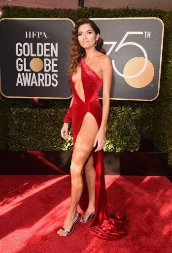 Blanca Blanco, Golden Globes 2018