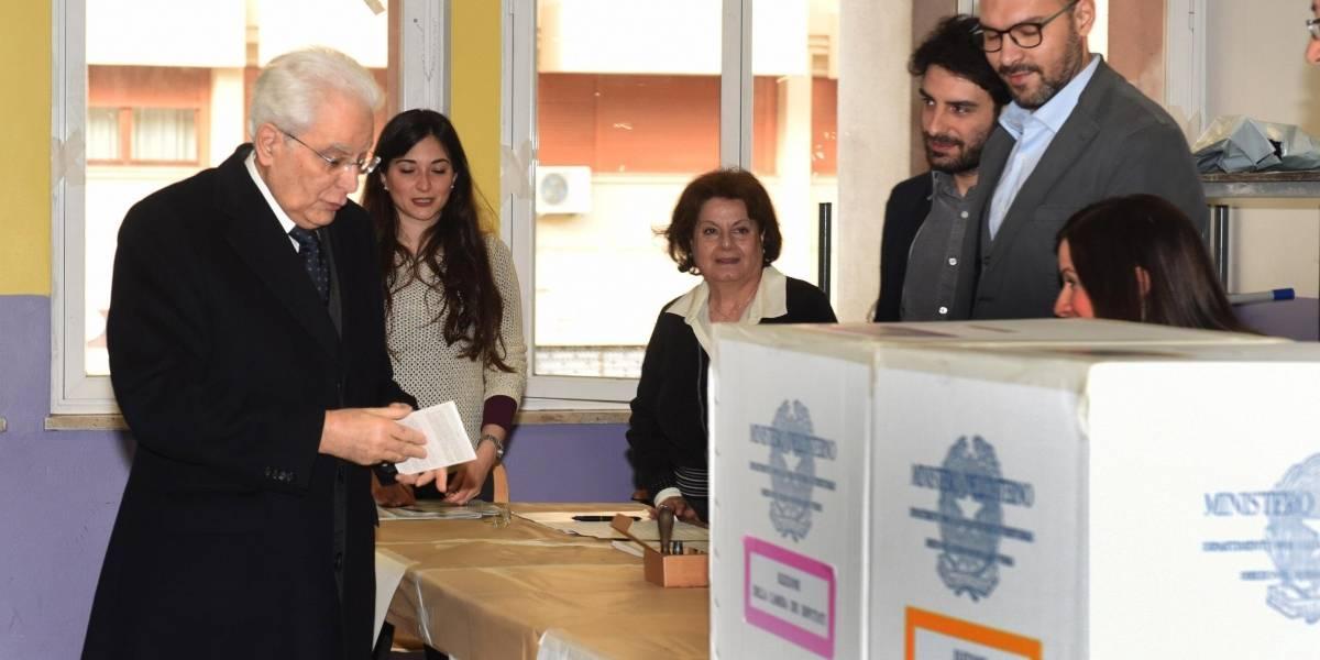 Italianos salen a las urnas para elegir su nuevo Congreso