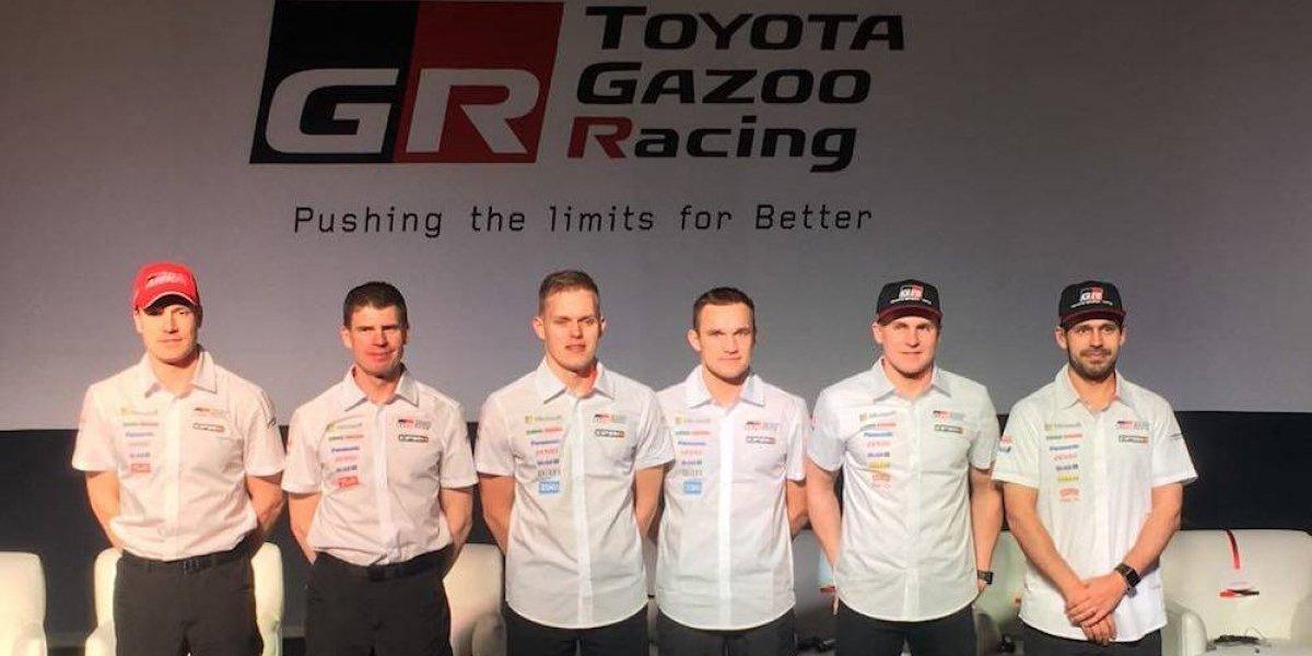 Toyota Gazoo Racing presenta a su equipo para el Rally México