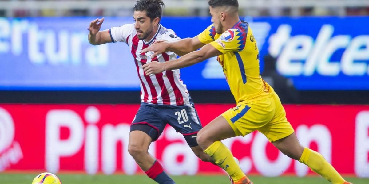 Chivas no supo ganar y América rescató el empate en el Clásico