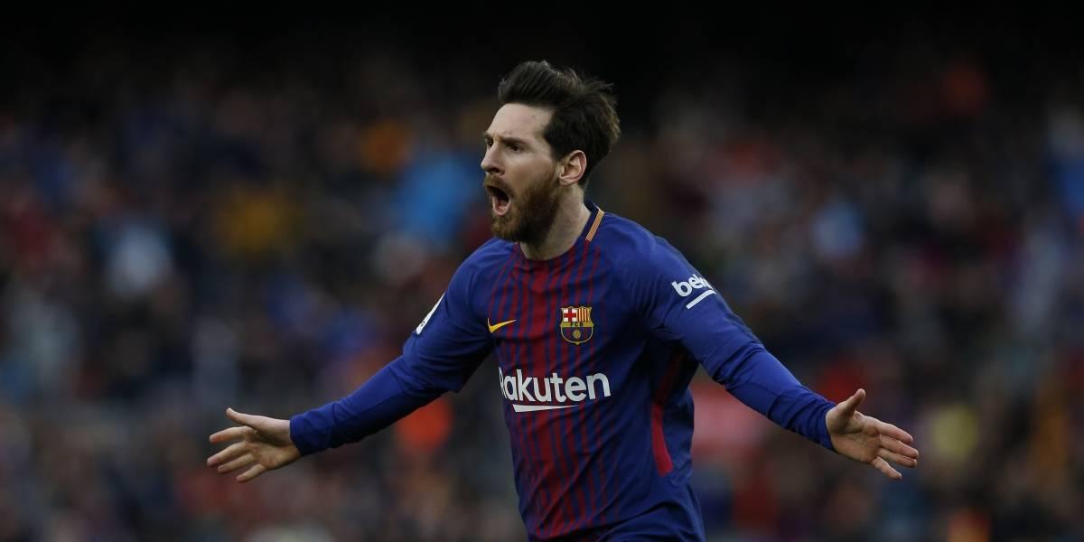 Messi tumba al Atlético y el Barcelona aguanta el liderato liguero