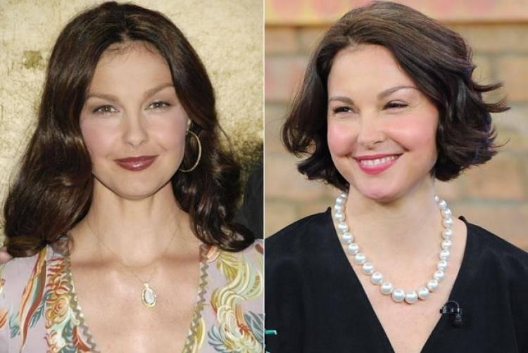 Ashley Judd, antes y después