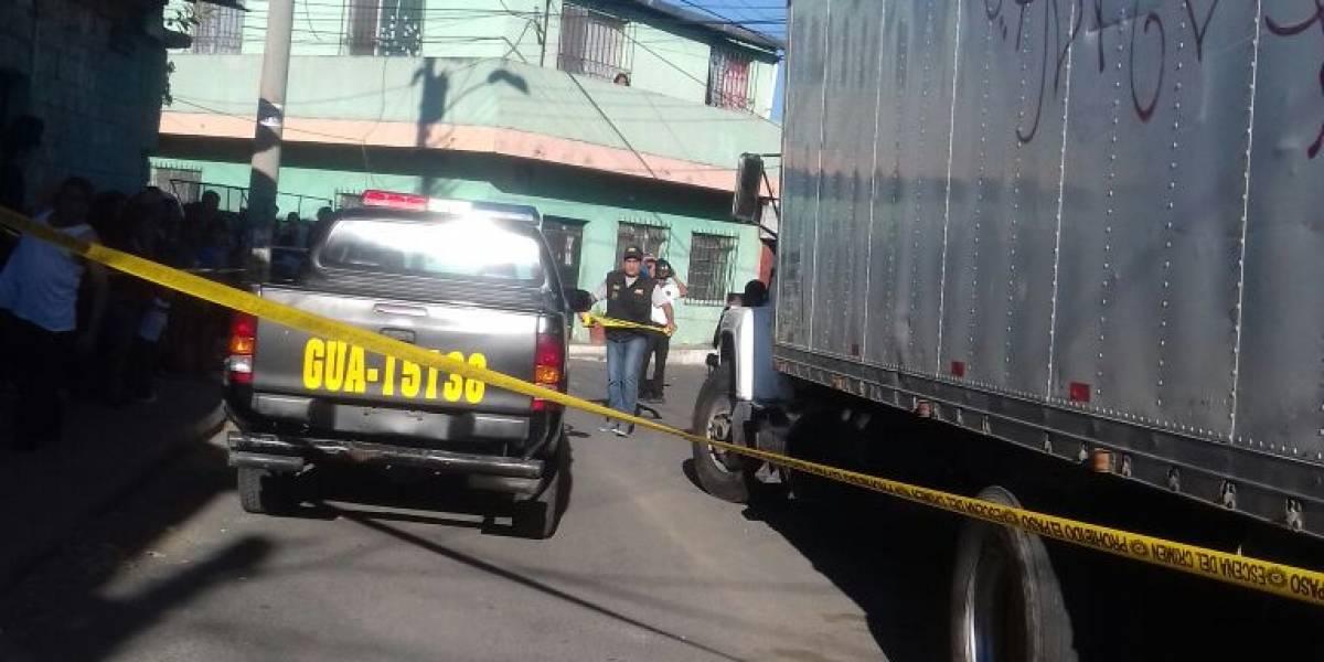 Ataque armado en Villa Nueva deja dos muertos