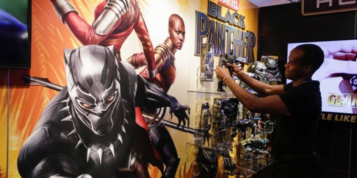 """""""Black Panther"""" sigue arrasando en los cines norteamericanos"""