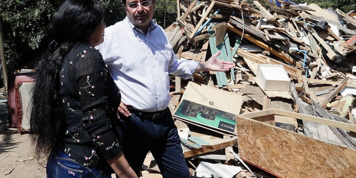 Comienza el desmantelamiento del campamento Juan Pablo II en Lo Barnechea