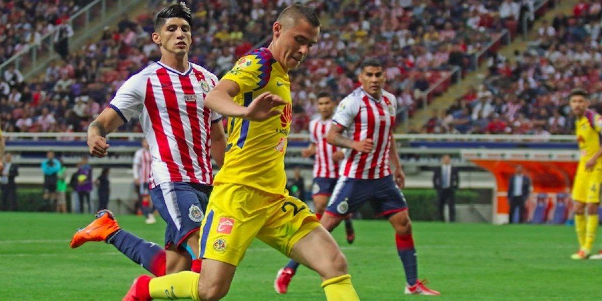 Chivas y América se reparten puntos en el Clásico Nacional 1-1