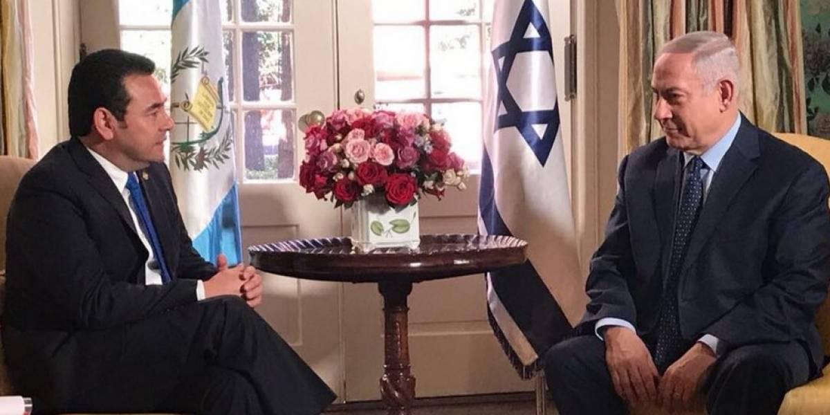 Israel le pide a Morales agilizar traslado de su embajada a Jerusalén