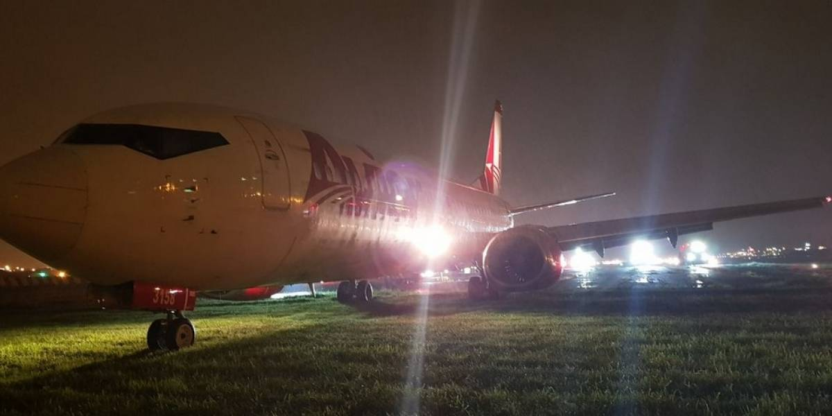 Avión venezolano causó el cierre momentáneo de un aeropuerto en Ecuador