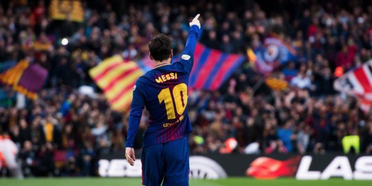 Messi alcanza un nuevo récord futbolístico