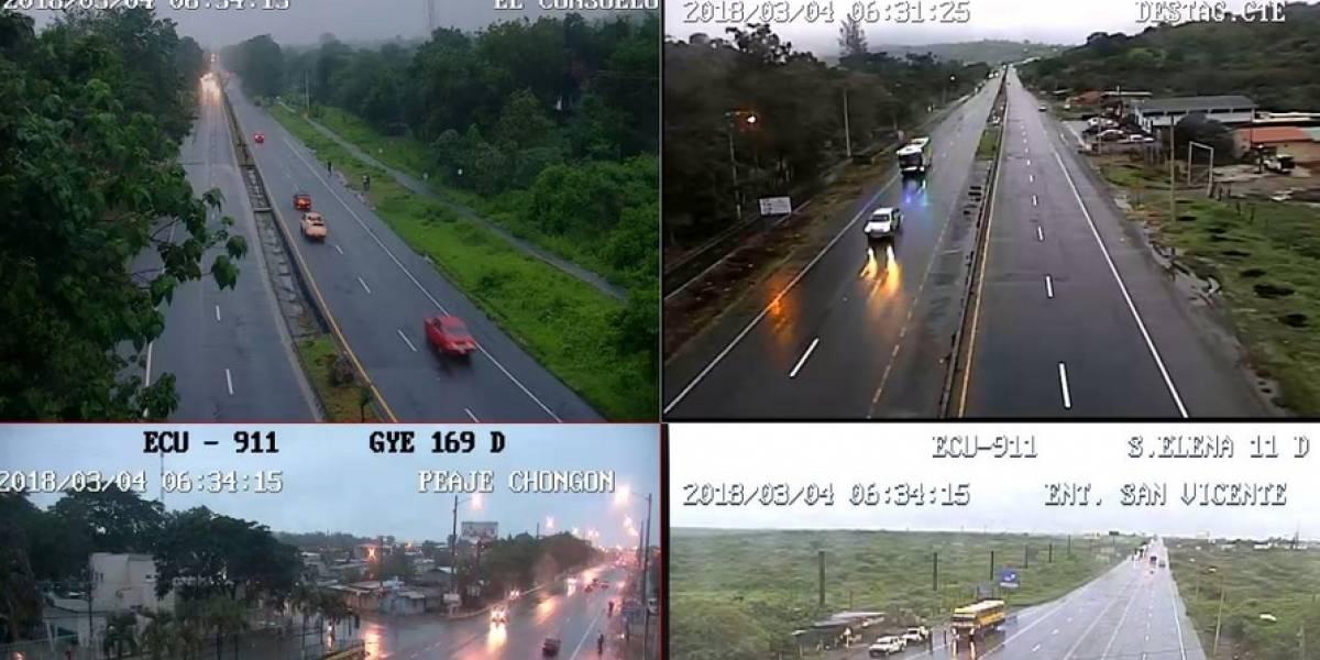 Guayaquil soporta varias horas de lluvia