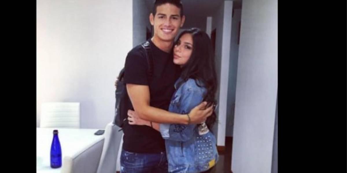 Hermana de James Rodríguez preocupa por su extrema delgadez