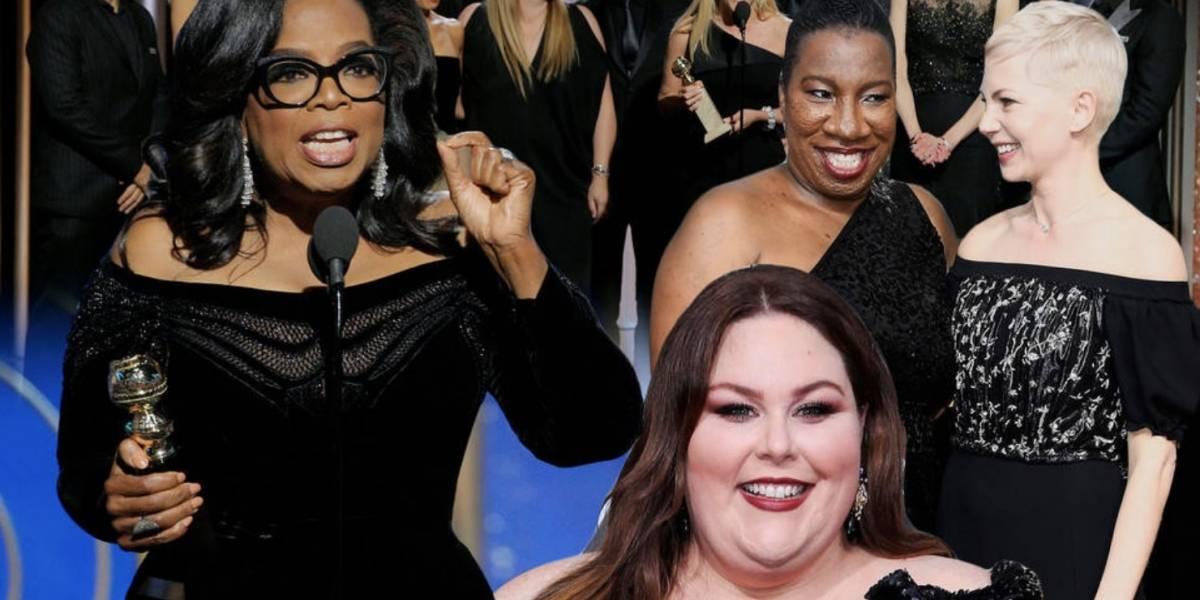 ¿Por qué las famosas no vistieron de negro para la entrega del Oscar 2018?