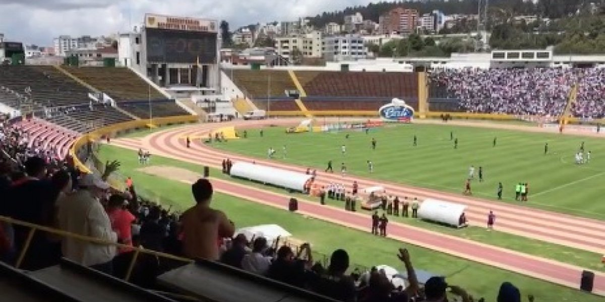 Impidieron grabar los partidos de la tercera fecha del Campeonato Nacional
