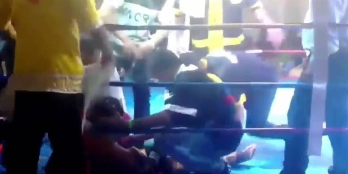 Murió boxeador tras dos semanas en estado de coma