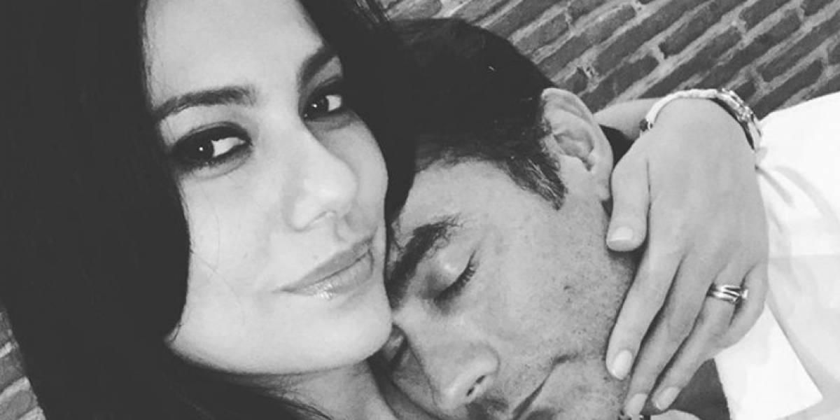 Exesposa de Mauro Urquijo revela chat donde muestra el nuevo amor del actor