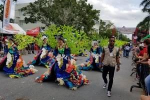Vistoso desfile en honor a nuestros arrecifes de coral. Elín Capellàn