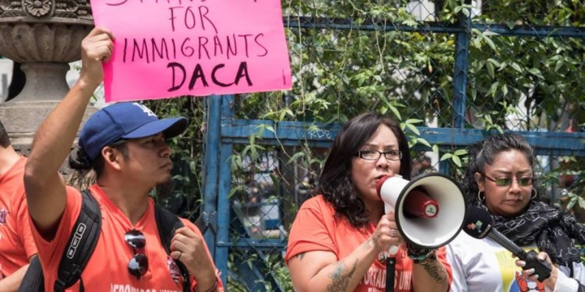 Cientos protestan contra la política migratoria de Trump