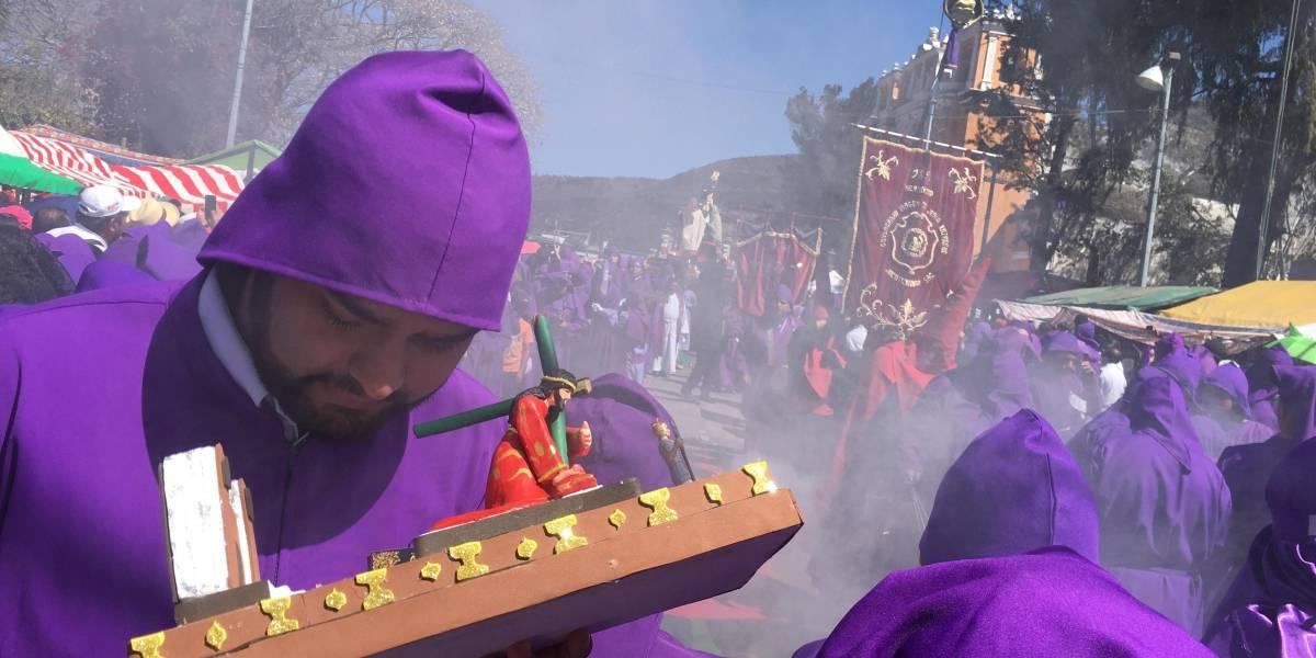 EN IMÁGENES. El Dulce Rabí llenó de fervor y tradición Jocotenango y La Antigua Guatemala