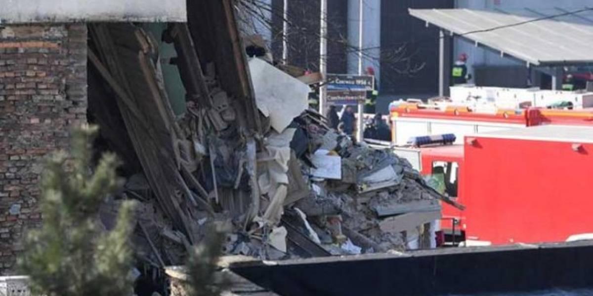 Derrumbe de edificio en Polonia deja a menos 4 muertos