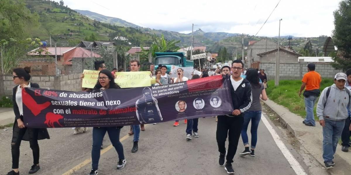 """Con marcha piden justicia para """"Príncipe"""""""