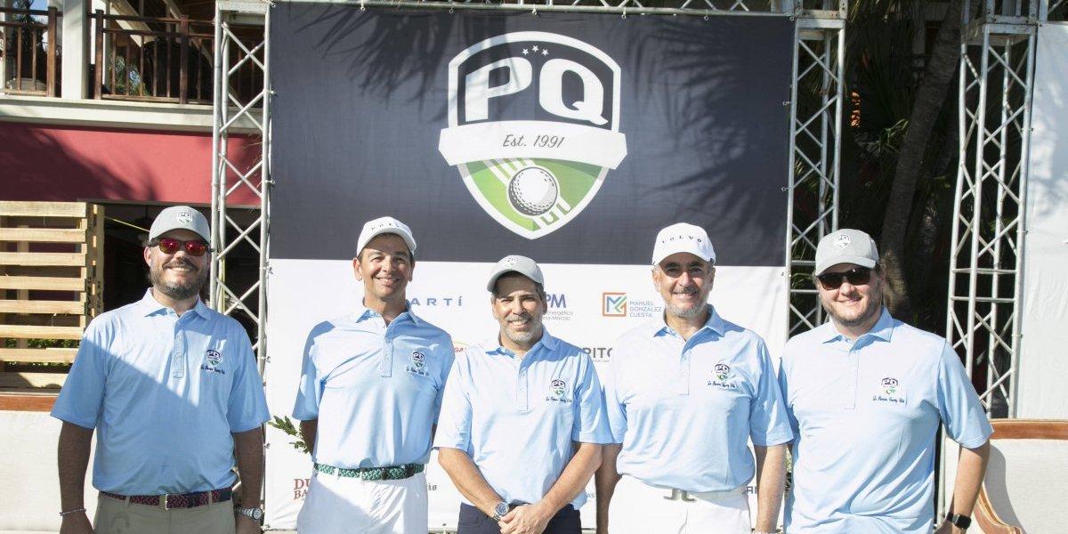 #TeVimosEn: Asociación Palos Quitao  realizó torneo de golf benéfico