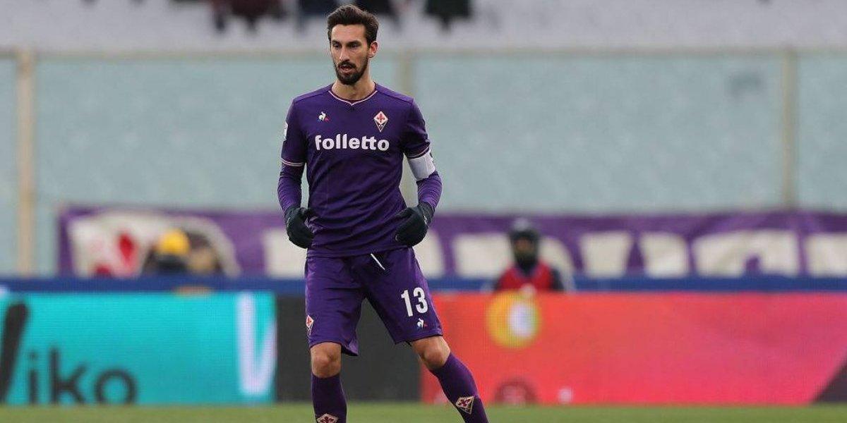 Tragedia en Italia: murió el capitán de Fiorentina, Davide Astori