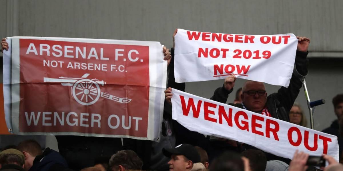 Arsenal es un desastre sin Alexis: perdió por cuarta vez seguida y el proceso Wenger se hunde