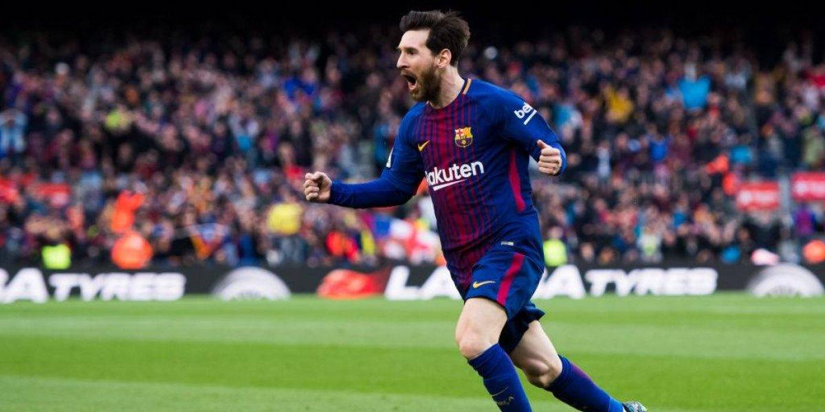 Una brujería de Messi que marcó su gol 600 como profesional decide la Liga española