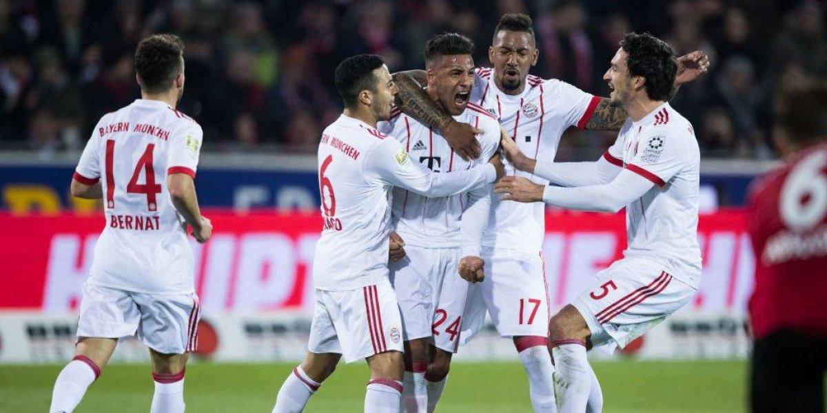 Arturo Vidal y su Bayern se dan otro festín en la Bundesliga