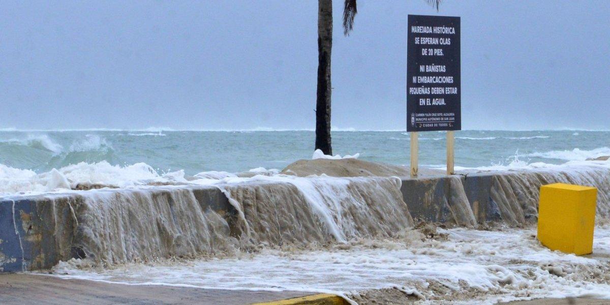 Gobierno reitera peligrosidad por fuerte oleaje y corrientes marinas