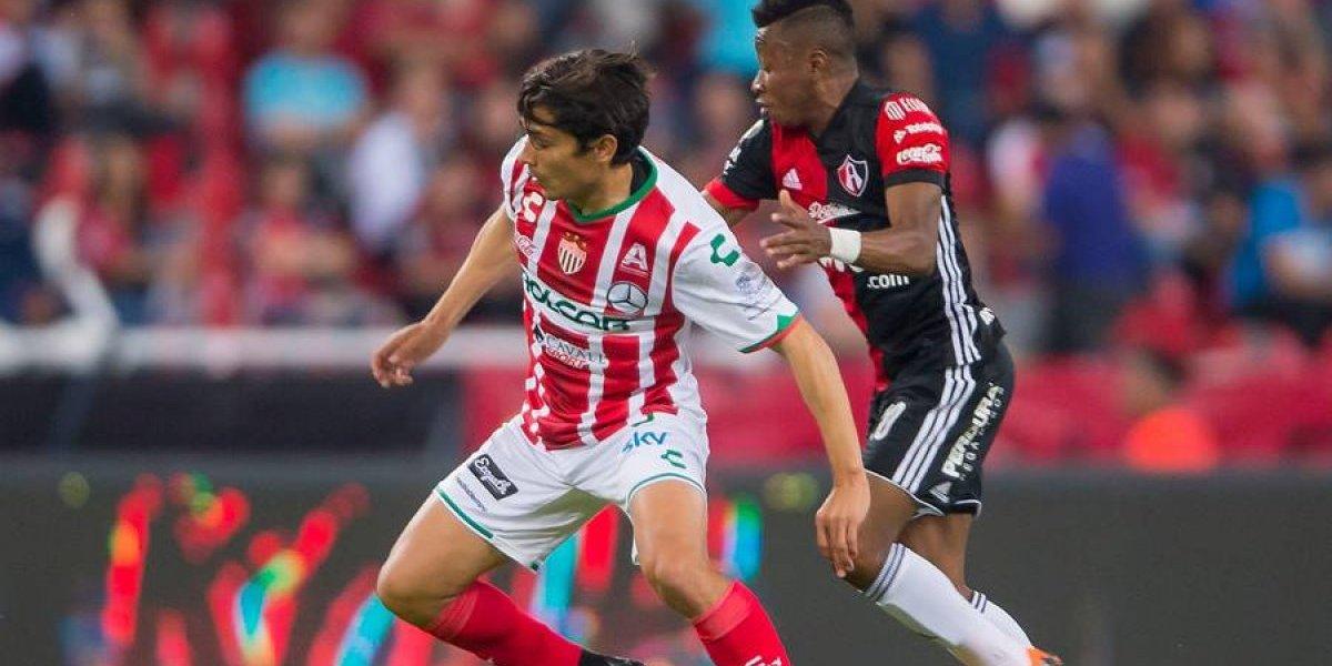 Matías Fernández fue titular en clasificación del Necaxa en la Copa MX