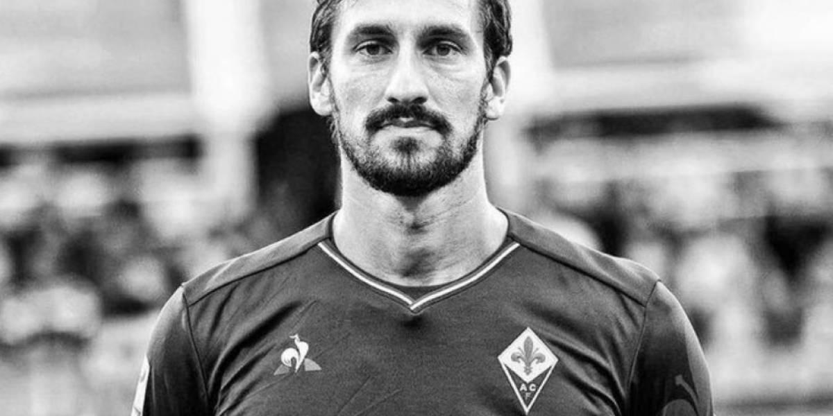 Futbolistas y equipos lamentan la muerte del jugador Davide Astori
