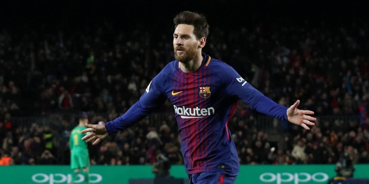 Messi vuelve a ser el héroe en triunfo del Barça