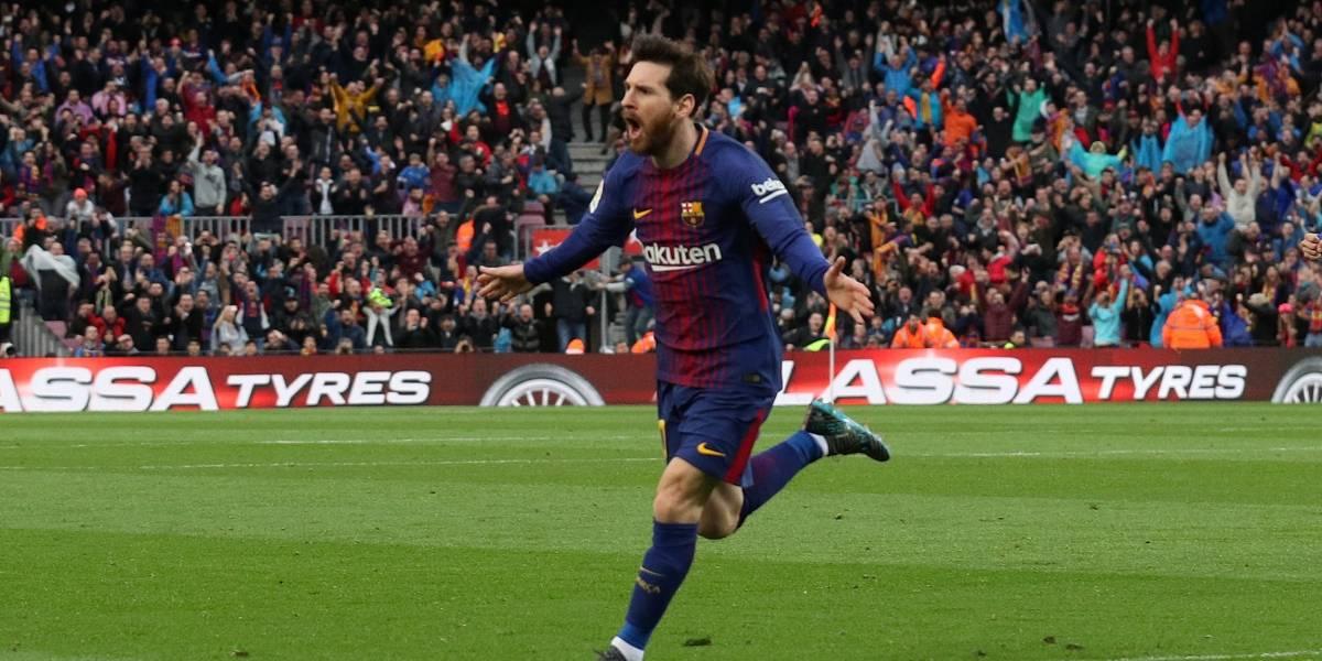 Messi faz o 600º gol, Barcelona vence Atlético de Madrid e se aproxima do título