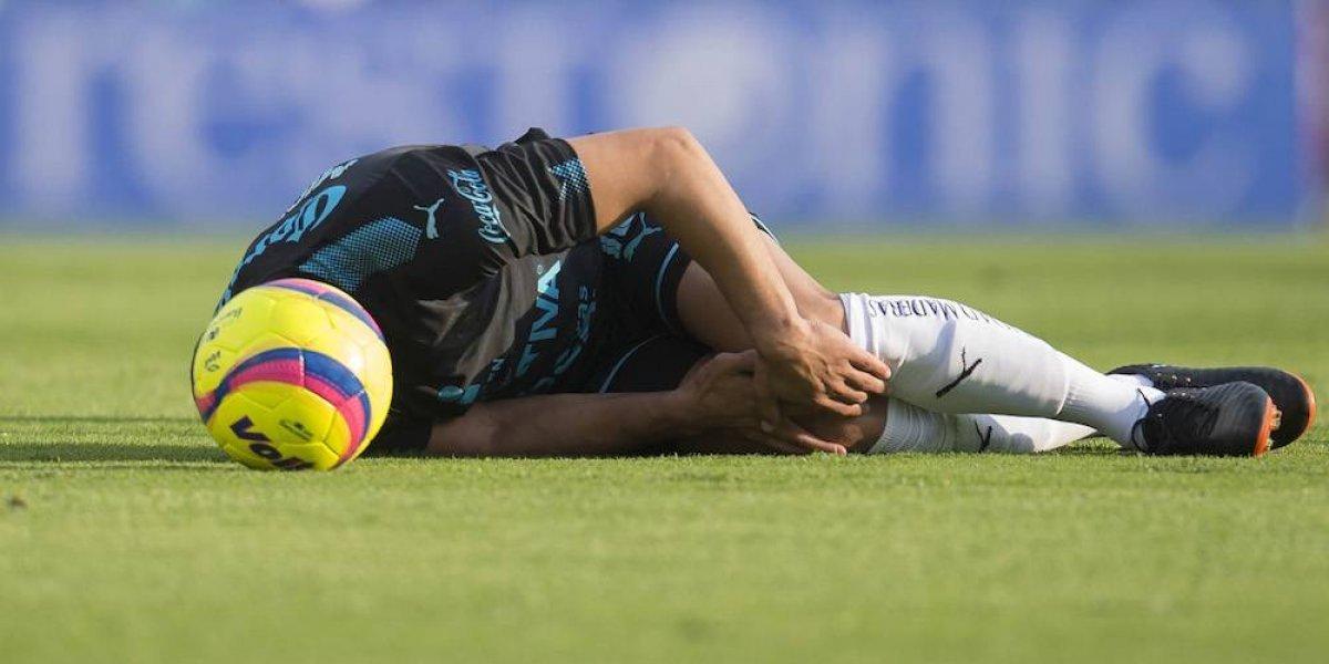 Miguel Samudio sufre convulsiones tras golpe en la cabeza
